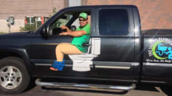 Canadian Plumber's Truck Proves Poop Jokes Are Eternally