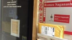 Le bureau de Romeo Saganash est fermé à