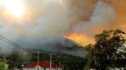 Lytton Fire Prompts Evacuation Of More Than A Dozen