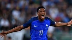 Regardez les buts des Bleus pendant France -