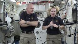 Deux astronautes achèvent avec succès une sortie orbitale pour des travaux à
