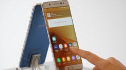 Samsung suspend les ventes du Galaxy Note 7... parce que des batteries explosent!