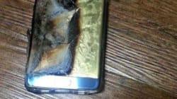 Samsung suspend les ventes du Galaxy Note 7 en raison d'une explosion de