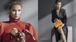 Jennifer Lawrence magnifique égérie des sacs Dior de l'automne 2016