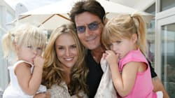 Charlie Sheen's Daughters Are Already