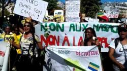 Les Gabonais de Paris manifestent contre la réélection d'Ali