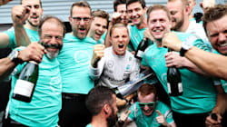 Formule Un: Nico Rosberg remporte facilement le Grand Prix