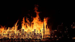 L'impressionnante commémoration du grand incendie de Londres
