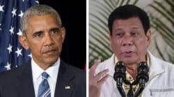 Obama annule sa visite avec le président philippin qui l'a traité de