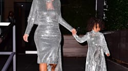 Kim Kardashian And North West's Mother/Daughter