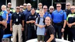 Kids Of Fallen Police Officer Get Best Back-To-School