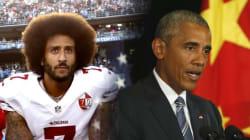 オバマ大統領、国歌斉唱しない選手を擁護