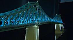 Le pont Jacques-Cartier s'illuminera pour le 375e de Montréal