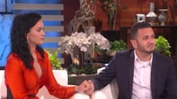 En larmes, Katy Perry surprend un survivant de la tuerie d'Orlando