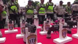 Au Vénézuela, on échange des armes contre de