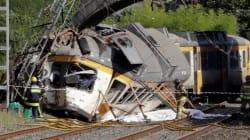 Au moins quatre morts dans un accident de train en Espagne