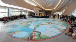 1-Million Tile Mosaic Unveiled At Edmonton's New
