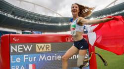 Record du monde et médaille d'or pour cette athlète française aux