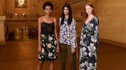 Club Monaco Shows Its First-Ever Show At New York Fashion