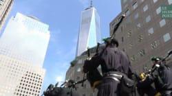 Cortège inédit de cornemuses à New York pour commémorer le