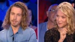 L'instant complice de Julien Doré et Virginie Efira chez