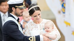 Sweden's Little Prince Adorably Underwhelmed By Own