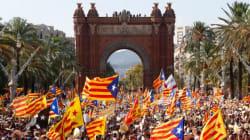 Des centaines de milliers d'indépendantistes déferlent à