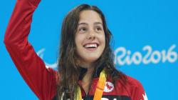 Aurélie Rivard remporte l'or et fracasse un record
