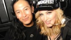 Madonna et sa fille Lourdes entourées de célébrités au premier rang du défilé Alexander
