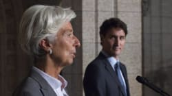 IMF Head Urges Canada, EU To Finally Sign Trade