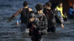 Entre los refugiados y los líderes del mundo, una tierra de