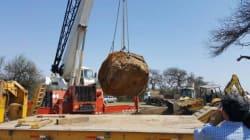 Une météorite vieille de 4000 ans déterrée en Argentine