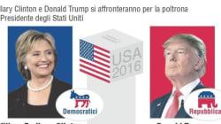 Hillary diffonde la cartella clinica, Donald rompe la