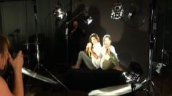 Nous avons suivi deux médaillées olympiques en shooting dans les studios