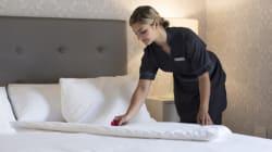 Sicuri che gli hotel cambino le lenzuola all'arrivo di nuovi ospiti? Guardate questo
