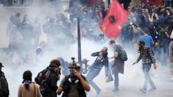 Violentes manifestations en