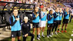 Pourquoi cette star du foot féminin a (encore) boycotté l'hymne
