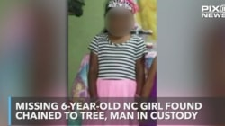 Police Find Missing 6-Year-Old Chained To A
