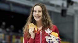 Jeux paralympiques: la nageuse Aurélie Rivard sera la porte drapeau du
