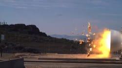 Cette explosion filmée au ralenti par la NASA va vous