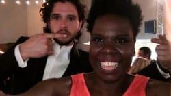 Leslie Jones tietou o elenco de 'Game of Thrones' no Emmy (e foi