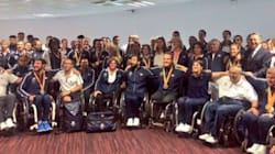 Les athlètes paralympiques sont de retour en France avec leurs 28