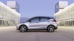 Chevrolet dévoile le prix de la Bolt