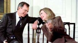 Bush padre pronto a votare Hillary. Lo rivela