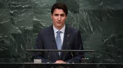 Justin Trudeau à l'ONU: «Nous sommes ici pour aider»
