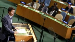 PM Unofficially Launches Canada's Bid For UN Security Council