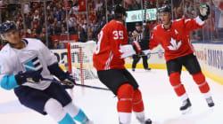 Le Canada l'emporte 4-1 contre l'Europe