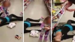 Madre in overdose al supermercato, la figlia di 2 anni prova a rianimarla