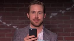 Ryan Gosling Gets The Giggles While Reading Mean