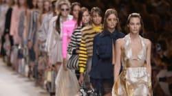 Mode à Milan: la vie en rose de